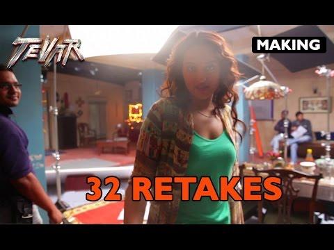 Making of (Tevar) | 32 Retakes | Sonakshi Sinha & Arjun Kapoor