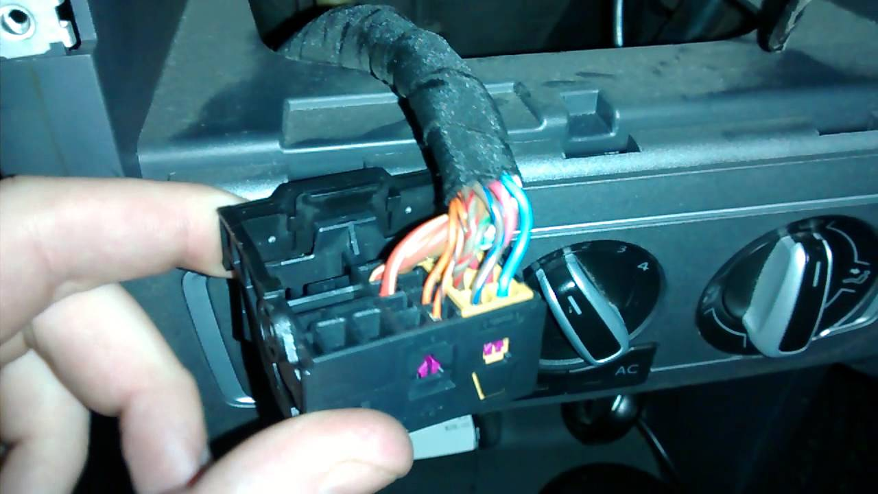 Identificar cables del estereo VW SURAN  Suran Club   YouTube