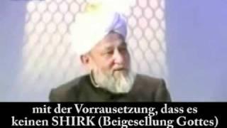 Wer kommt in das Paradies oder in die Hölle aus islamischer Perspektive? Islam Ahmadiyya Muslime