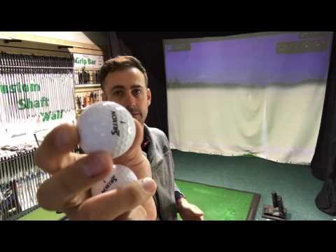 Golf Ball Fitting & Testing With Launch Monitor Results - How Do You Choose The Correct Ball?