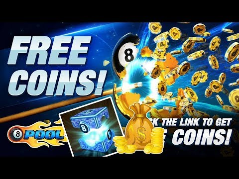 8 Ball Pool Free Coins Giveaway Unique Id Link In description
