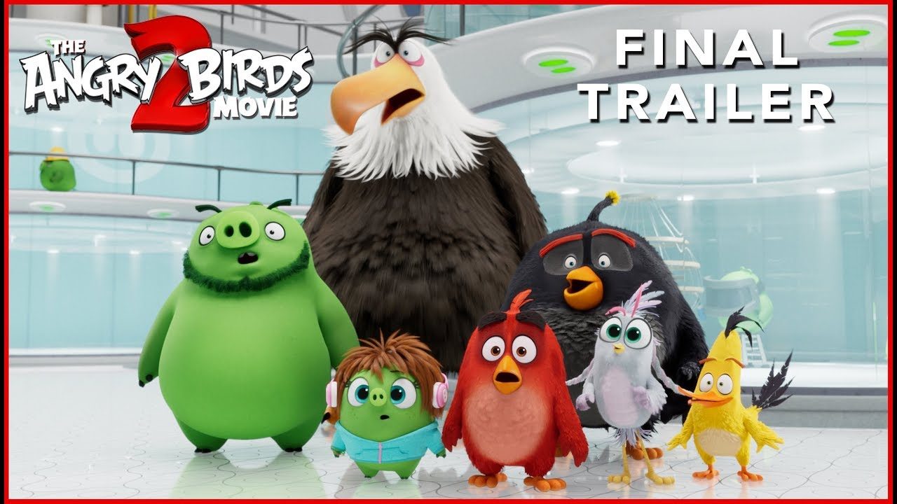 Angry Birds Movie 2 New Trailer Birds And Pigs Team Up To Fight