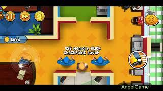 Robbery Bob - Bonus Chapter (Challenge) Level 8 Gameplay Video