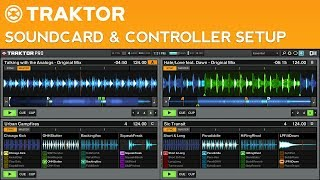How to DJ with Traktor Pro 2: Part 1 - Soundcard and MIDI Controller Configuration