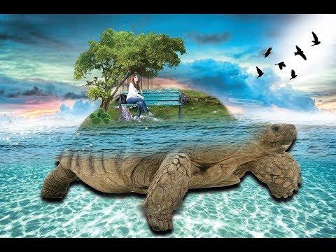 underwater effect manipulation || photoshop tutorial
