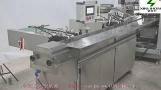 전자동 마스크 포장 장치, 영어 해설