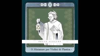 9 miniature per violini di plastica