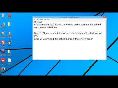WD SES Device USB Driver Download/Install | Windows | Latest