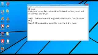 WD SES Device USB Driver Download/Install   Windows   Latest