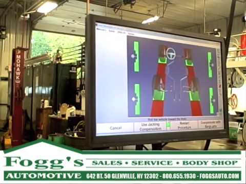 Foggs Automotive Inventory >> Front End Alignment Foggs Automotive Glenville Ny
