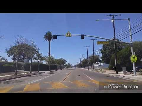 Driving By Orange,California