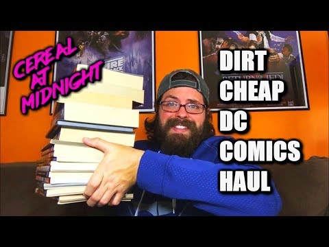 Dirt Cheap DC Comics Haul (Ollie's Bargain Outlet Collected Edition Pick Up)