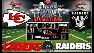 2017 LIVE! NFL Analysis   TNF Chiefs vs. Raiders WK 7   TNF OVERTIME #LouieTeeLive thumbnail