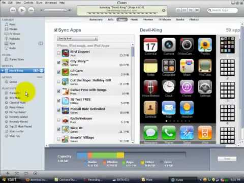CĐ thực hành FPT - trungptpt00158 - hướng dẫn cách tải game và nhạc cho iphone