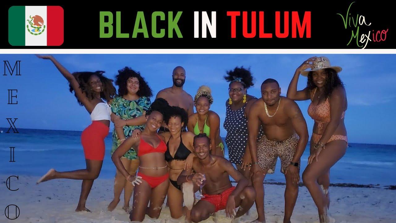 Black in Tulum, Mexico: Tulum Vlog