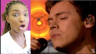13 times HARRY STYLES vocals had me shook REACTION