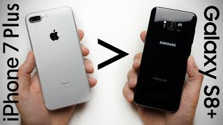 25 Reasons Why iPhone 7 Plus Is Better Than Galaxy S8+