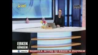Soma Maden kazası haberlerine ülke tv Selda ATALAY da dayanamadı canlı yayında ağladı