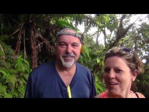 American Travelers climb Nevis Peak Volcano,  Nevis,  Caribbean