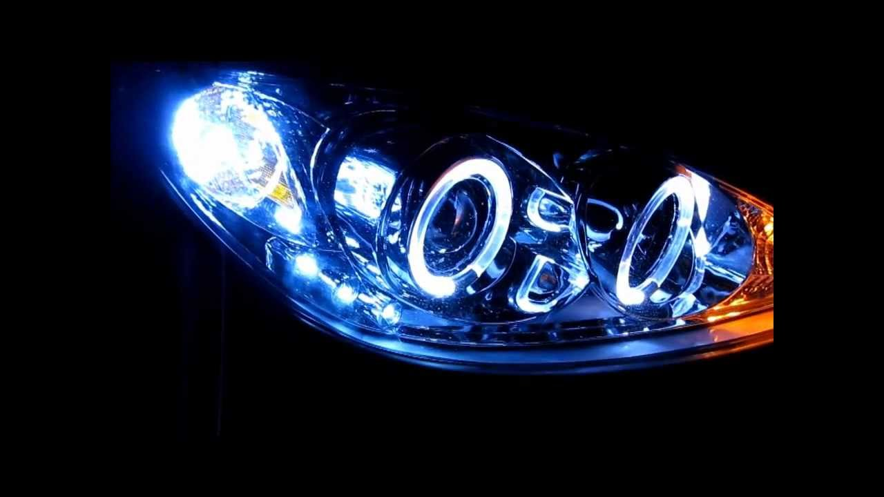 Camry Halo Projector Hid Headlights Youtube