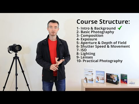 Intro & Background - Photography Course Pt 1