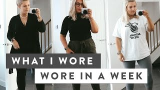 What I Wore an a Week  Fashion for Curves &amp Designer Dupes