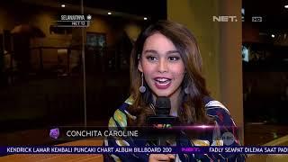 Conchita Caroline Tak Sulit Membagi Waktu Untuk Pendidikan