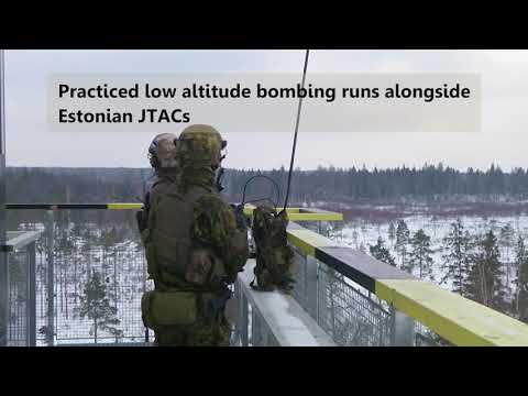 DFN: TSP Estonia 2018 - Range Bombing Operations, ESTONIA, 02.14.2018