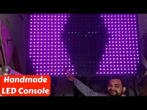 Handmade DJ Led Console Factory with prices - Delhi Vlogs
