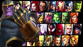 Marvel Ultimate Alliance 3: The Black Order - All Characters Unlocked + Gameplay