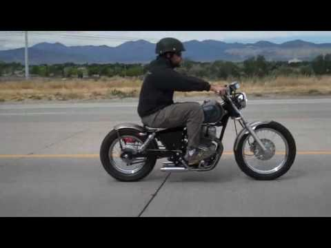 Honda Rebel 250 Bolt on Bobber Kit Ride