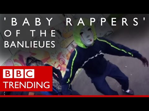 The 'baby rappers' of the banlieues - BBC Trending