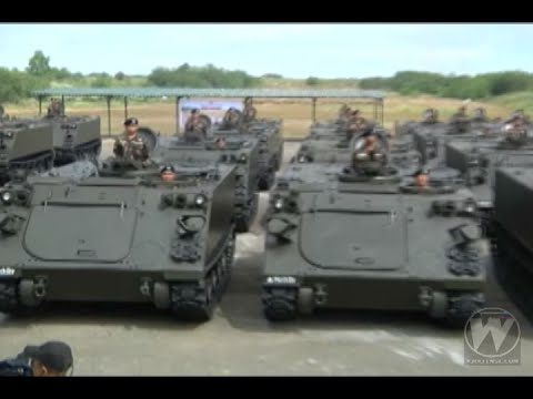 Philippine Army Mechanized Infantry Division formally recieved M113A2 APCs