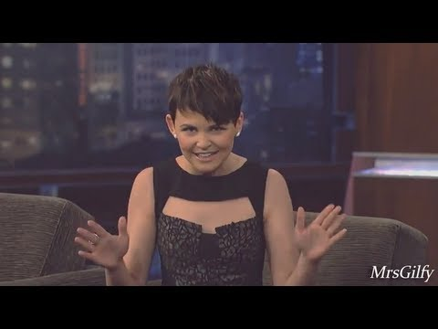 Funny and lovely Ginnifer Goodwin moments PART 1