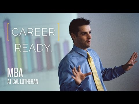 Master of Business Administration (MBA) at Cal Lutheran