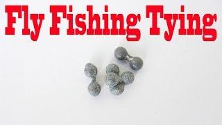 Fly Tying - Diy Lead Eyes Part # 02 By Daniel Pielet - Hd Video # 84