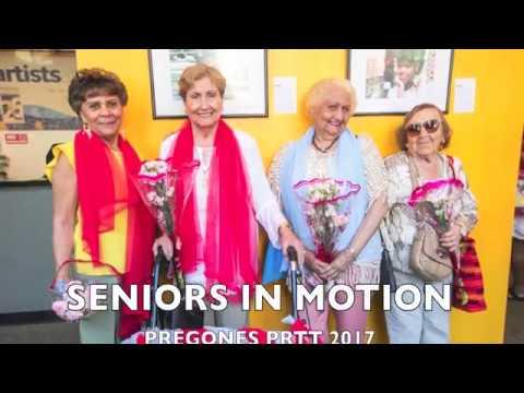 Pregones PRTT Seniors In Motion 2017
