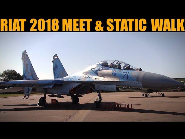 Meet Up & Static Display Walk | RIAT 2018