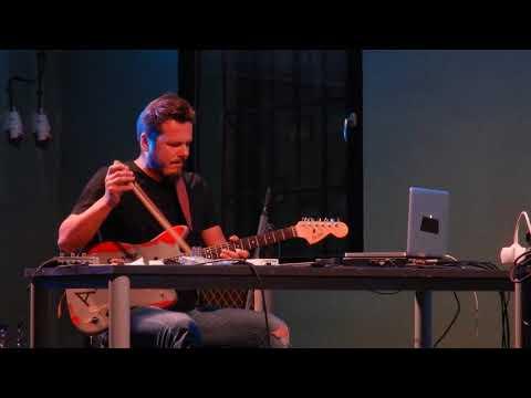 Arve Henriksen & David Kollar, fragment of first song on Elektrarna Piestany concert 2017
