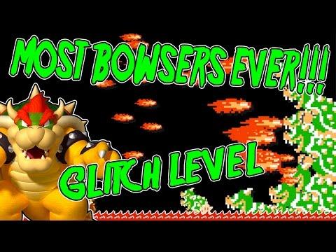 SUPER MARIO MAKER GLITCH LEVEL   Bowser Television Games   A