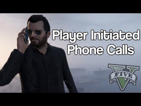 GTA 5 All Player Initiated Phone Calls