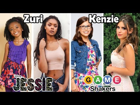 Disney Channel and Nickelodeon Famous Girls Then and Now 2018 (Before and After)