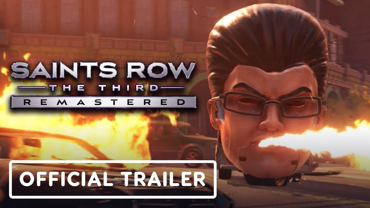 Saints Row: The Third Remastered - Official Announcement Trailer - IGN