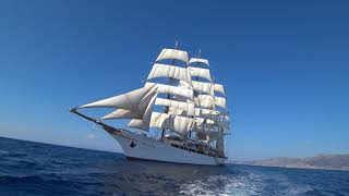 Sea Cloud in the Greek Isles