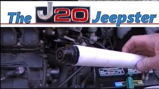 How to easily replace PCV valve and hose on a 2000 Ford Taurus.