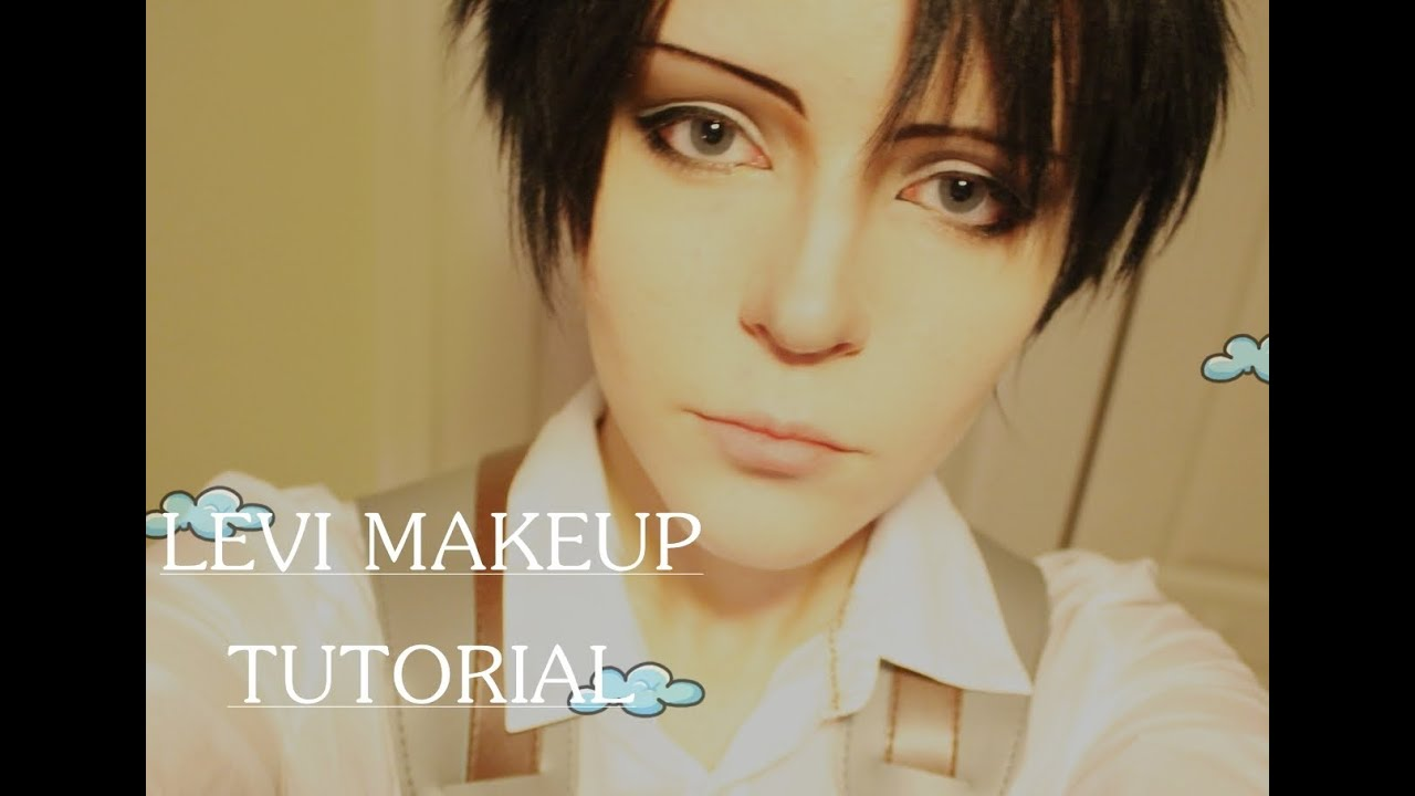 ACCURATE LEVI MAKEUP TUTORIAL (Eyebrow tutorial, nose and ...
