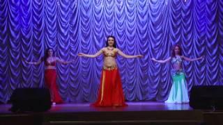 Восточные танцы. Арабская песня. Концерт «Winter art of dance» 2015.