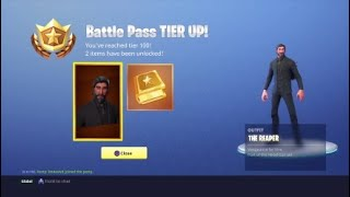 "*Crazy Reaction* Unlocking ""The Reaper"" or John Wick in Fortnite Battle Royale! (NO TIERS BOUGHT)"