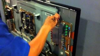 defective samsung ps51d550 plasma no picture has sound