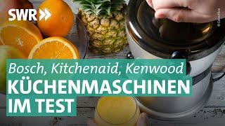 Küchenmaschinen im Test: Mensch gegen Maschine
